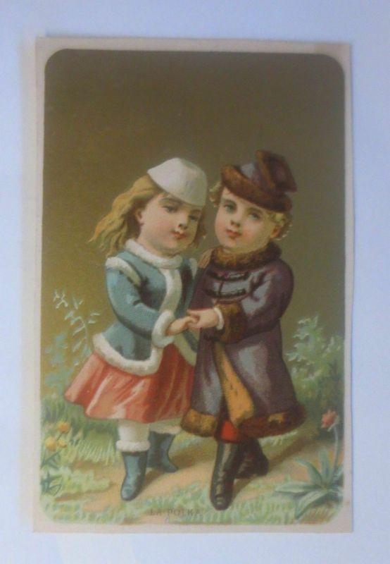 Kaufmannsbilder, Kinder, La Polka, Tanz,  1880 ♥ (2534)