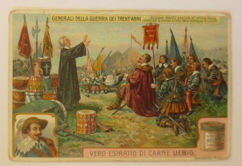 Liebig Italien Generali  Della Guerra Dei Trent´Anni ♥  (26838)
