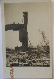 Frankreich Industrie Ruine Fotokarte (65340)