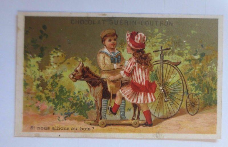 Kaufmannsbilder, Guerin Boutron, Kinder, Mode, Fahrrad,   1910 ♥ (63207)