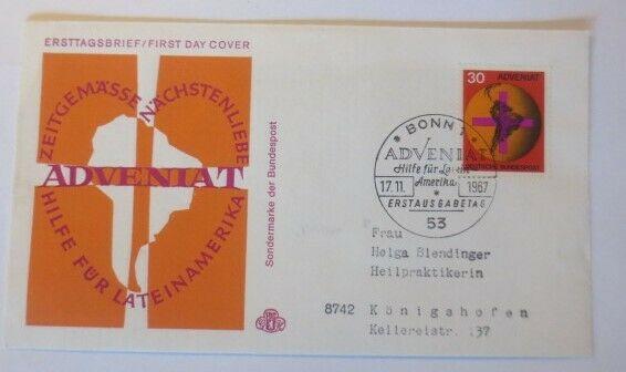 FDC Ersttagsbrief - Sonderstempel Adveniat  1982 ♥ (40177)