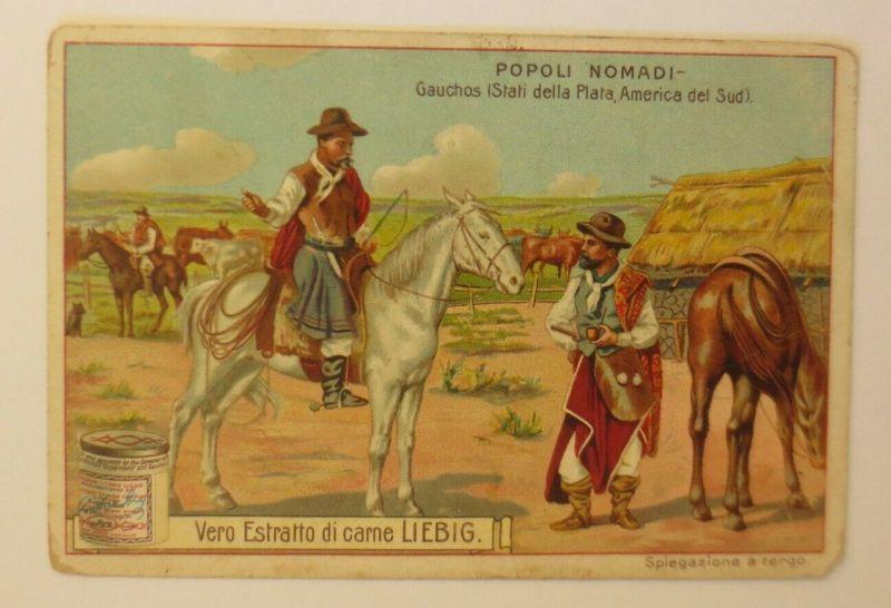 Liebig  Italien Popoli Nomadi Gauchos  ♥ (33984)