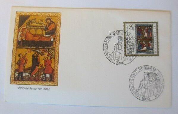 FDC Ersttagsbrief - Sonderstempel Weihnachten  Berlin 1987 ♥ (35974)