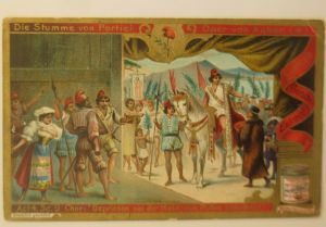 Liebig  Serie 578, Oper von Auber, Die Stumme von Portici  ♥ (28582)