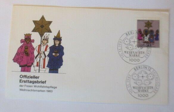 FDC Ersttagsbrief - Sonderstempel Weihnachten Berlin  1983 ♥ (27105)