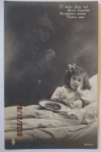 Kinder WW 1, Gebet, O lieber Gott laß deine Engelein... (51973)