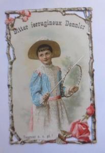 Kaufmannsbilder, Oblate,Bitter Dennler, Reifentreiben, 1910 ♥ (61361)