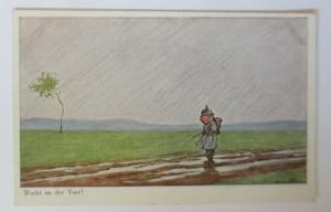 WW1 Kinder, Wacht an der Yser,  1915, Ad. Hoffmann ♥ (12226)