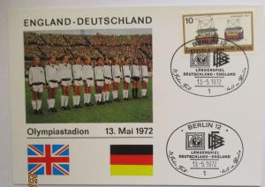 Fußball Länderspiel Deutschland England Berlin 1972 (49423)
