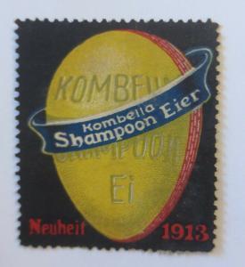 Vignetten Kombella Shampoon Eier Neuheit  1913  ♥ (19928)