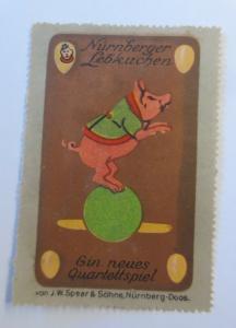 Vignette Nürnberger Lebkuchen ein neues Quartett Nürnberg 1900 ♥ (30966)
