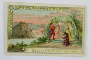 Kaufmannsbilder, Diamantine, Nr.4, Die sieben Jungfrauen,  1780   ♥