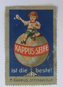 Vignetten Kapuss-Seife ist die beste M. Kappus Offenbach a.M. 1910 ♥ (22907)