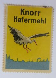 Vignetten Knorr Hafermehl  ♥ (68390)