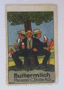 Vignetten  Buttermilch Meierei  C. Bolle  A.G. ♥ (12573)