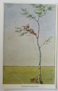 WW1  Kinder, Beobachtungsposten  1916 ♥  (12922)