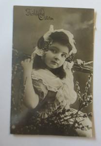 Ostern, Kinder, Mode, Weidenkätzchen,  1911  ♥ (24072)