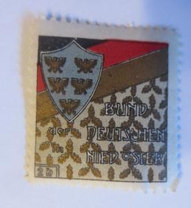 Vignetten, Bund der Deutschen Nieder-Österreich 1914 ♥ (70505)