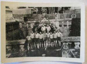 Deutschland, Fußballmannschaft, original Foto ca. 1930 (40646)