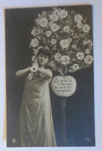 Frauen Mode, Jugendstil, Rosenbaum,   1907 ♥  (64319)