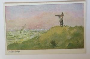 WW1 Kinder, Soldat, Fernrohr, Feldherrnhügel,   1915  ♥ (41166)