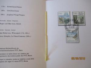 Schweiz Dauermarken Tierkreiszeichen 1983 PTT Heft (6339)