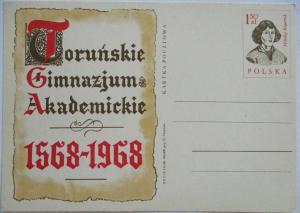Polen Ganzsache Kopernikus 1968 (23634)