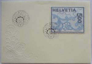 Schweiz Stickereimarke 1726 FDC (48280)