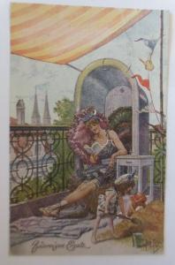 Arthur Thiele, Bademoden,  Badereigen Ersatz,  1927  ♥ (292)
