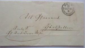 Schweiz, Altbrief Bern 1865 nach Grosshöchstetten (8534)