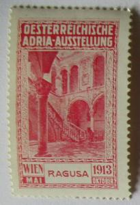 Österreich Adria Ausstellung Ragusa 1913 ungebraucht (34781)