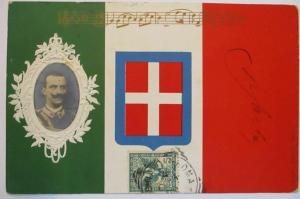 Italien König Viktor Emanuel Fahne, Patriotik (64810)