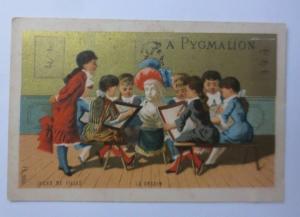 Kaufmannsbilder,  Pyggmalion, Kinder, Schule, 1889   ♥