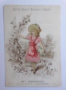 Kaufmannsbilder, Mlle Troncy,      Kinder, Mode, Seide,  1910 ♥