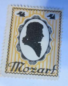 Vignetten, Mozart Wien Österreich ♥