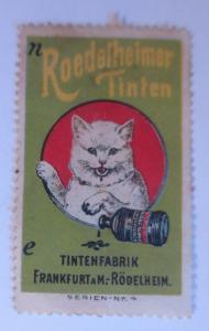 Vignetten  Roedelheimer Tinten Tintenfabrik Frankfurt a. M. Rödelheim ♥ (33244)