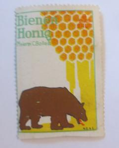 Vignetten Bienen Honig Meierei C. Bolles  1910 ♥ (42311)