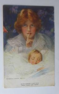 Künstlerkarte, Wenn Träume war werden, Reinthal & Newman   1918  ♥ (59260)