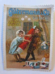 Vignetten  Gütermann & Co. beste Schappe Nähseide Gutach Breisgau  ♥ (28455)