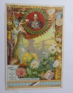 Liebig, Serie 258, Symbolische Blumen, Chrisanthemum ♥