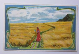 Kaufmannsbilder, Chocolat, Milka, Frauen, Landschaft,  1900 ♥
