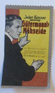 Vignetten  Gütermann´s Nähseide  1900 Gütermann & Co. ♥ (28365)