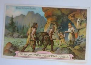 Kaufmannsbilder, Dr. Thompson´s Seifenpulver, Älteste Steinzeit, Nr.1 ♥ (64269)