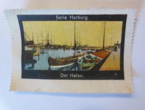 Vignetten Serie Harburg Der Hafen   1910 ♥ (12121)