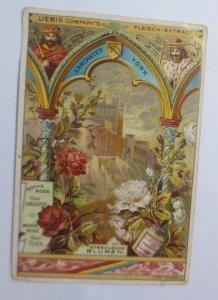 Liebig, Serie 258, Symbolische Blumen, Rote Rose ♥