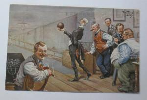 Arthur Thiele, Männer, Kegeln,     1922  ♥