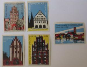 Vignetten, Das ganze Deutschland soll es sein, Rathaus, Städte  1960  ♥ (36847)