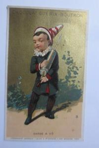 Kaufmannsbilder, Chocolat Guerin-Boutron, Kinder,  1898 ♥