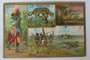Kaufmannsbilder, La Kabiline   1900  ♥