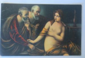 Erotik, Susanne im Bade, 1910, Guido Reni, Stengel ♥ (7667)